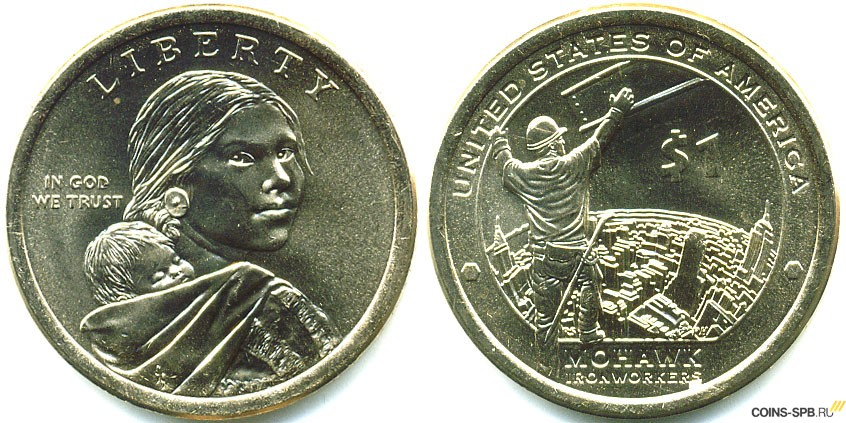 В сша монета в 1 10 доллара монета польша 1923