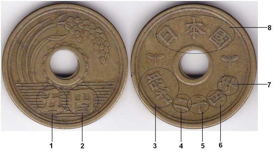 монеты японии фото