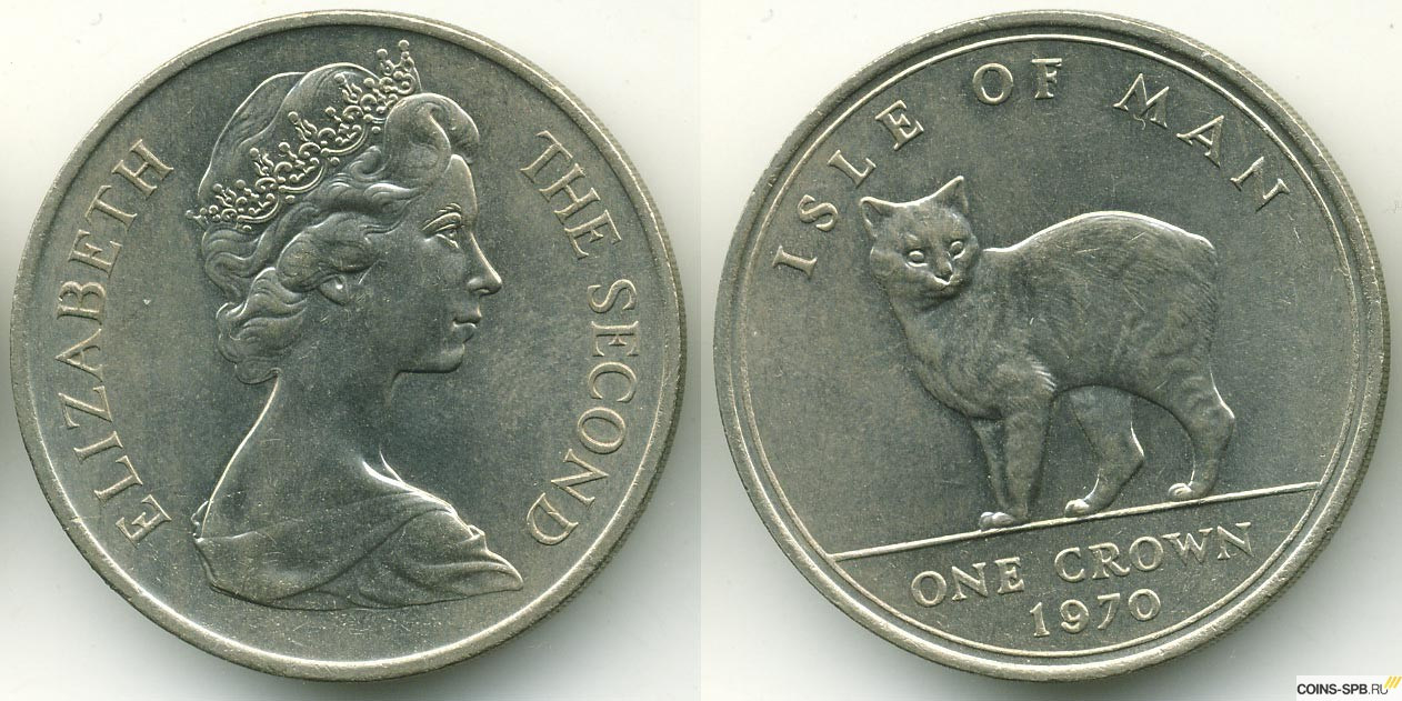 Монеты остров мэн 20 groszy 2012
