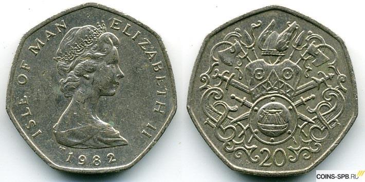 20 пенсов 1982 года цена сколько золотых монет дал карабас барабас буратино