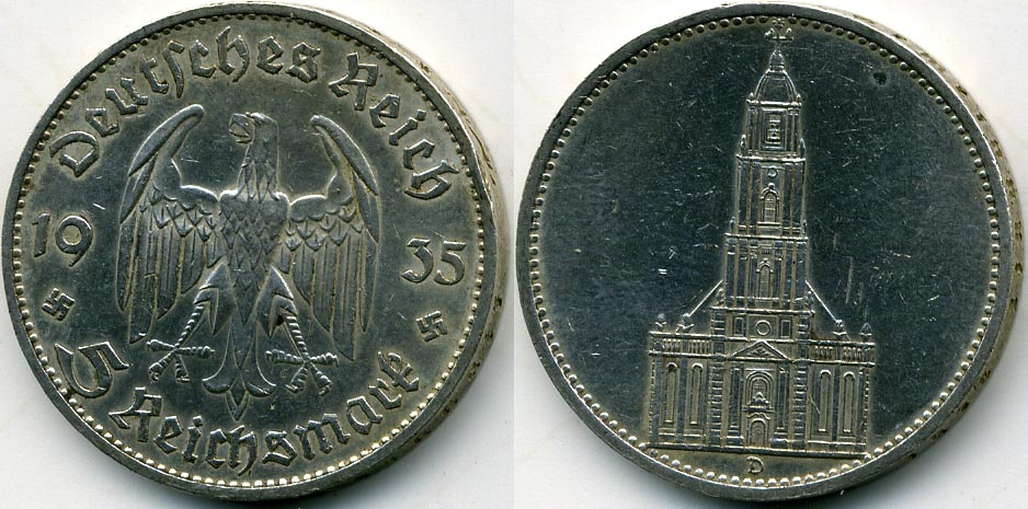 Цена монеты 5 марок 1973 года германия 1 сантим 1928 латвия цена