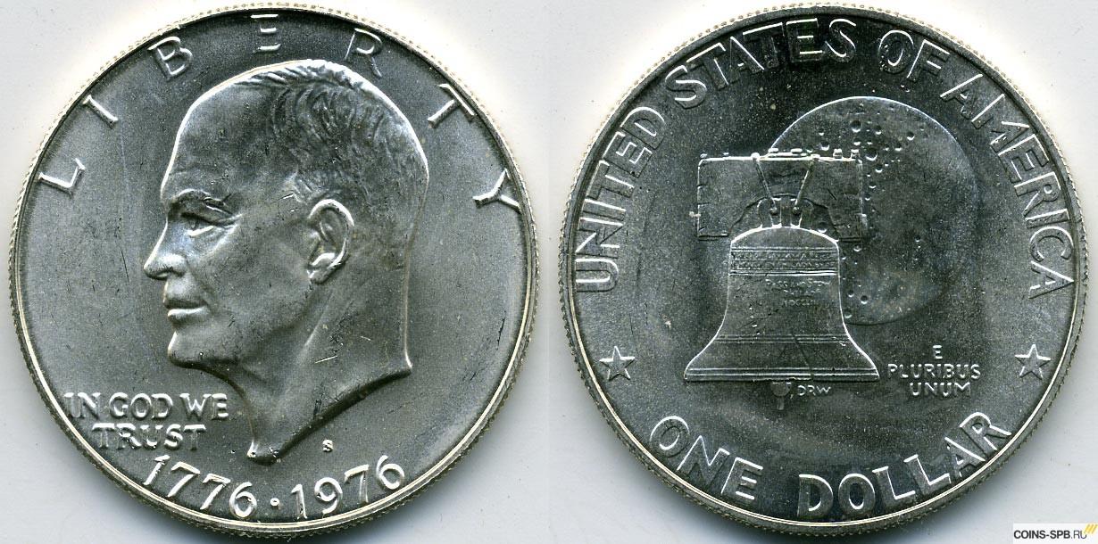 Все монеты 1 доллар сша шцц купить