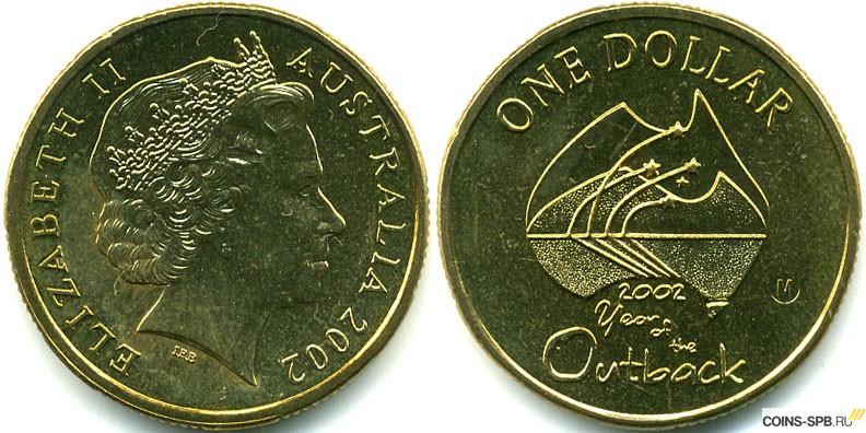 Австралия, 5 долларов (2002 г