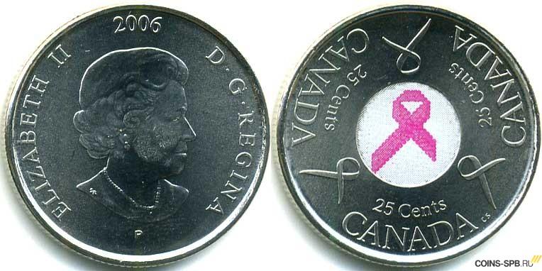 25 центов канада купить 10 грошей 1923 года цинк