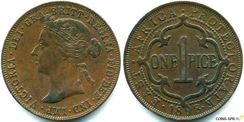 Монеты британского протектората бечуаналенд
