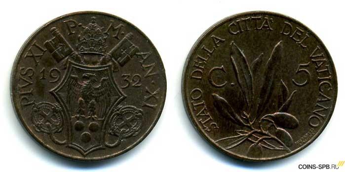 Описание монет ватикана монета фифа 2018 25