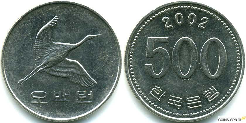Корейские монеты фото десяти тысяч рублей