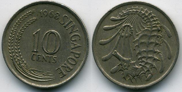 Монеты сингапур каталог цены карта кладов ленинградской области