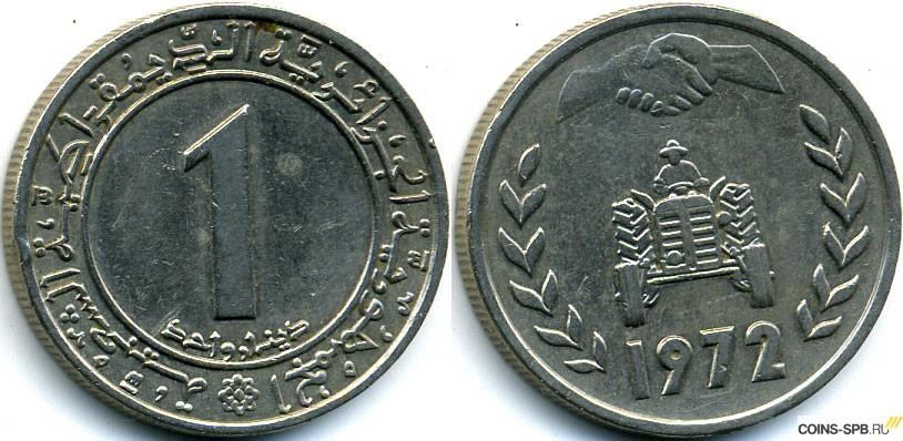 Курс алжирского динара к доллару