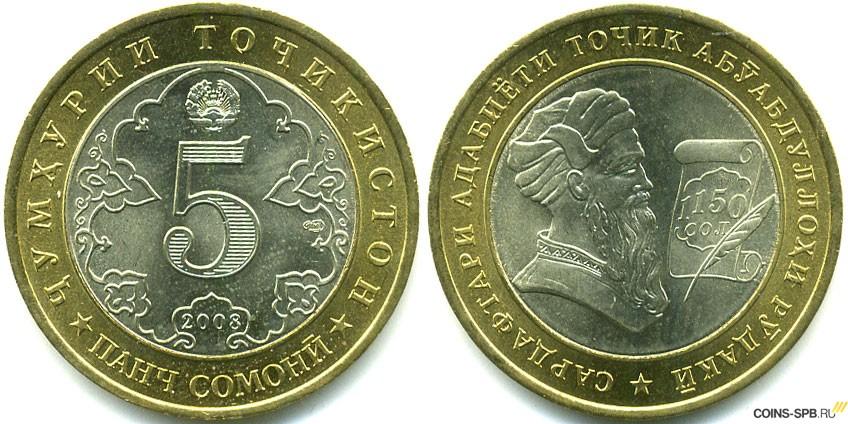 Каталог памятных монет таджикистана рубль 1909